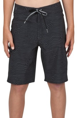 Boy's Volcom Magnetic Stone Board Shorts $40 thestylecure.com
