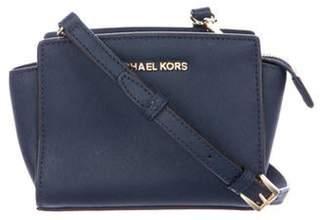 Michael Kors Mini Selma Crossbody Bag Navy Mini Selma Crossbody Bag