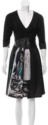 Save The Queen Short Sleeve Woven Dress