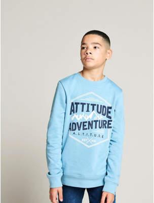 George Blue Adventure Mountain Sweatshirt