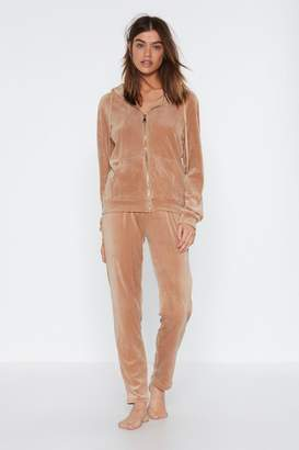 Nasty Gal On Track Jacket and Jogger Pants