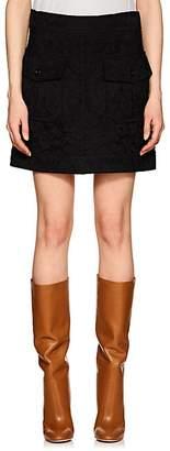 Chloé Women's Floral Lace Miniskirt