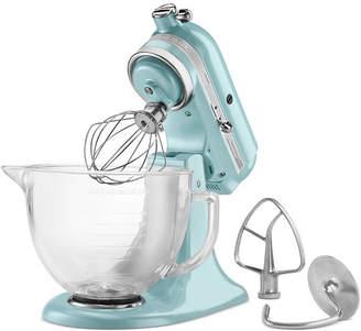 KitchenAid Artisan Design Series 5 Quart Tilt-Head Stand Mixer with Glass Bowl
