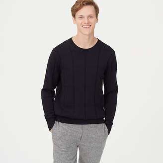 Club Monaco Grid Crew Sweater