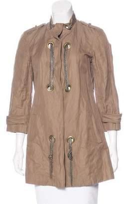 Gryphon Embellished Twill Jacket