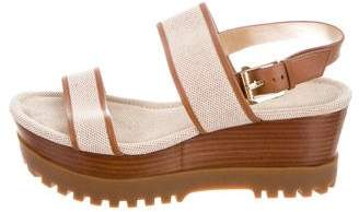 Michael Kors Ankle Strap Wedge Sandals