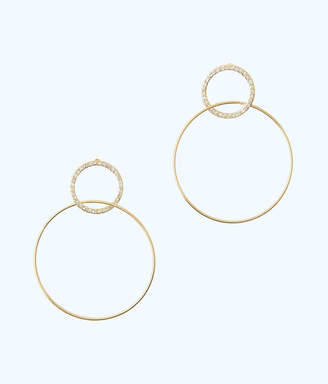 Lilly Pulitzer Sunkissed Hoop Earrings