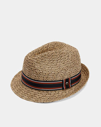 Ted Baker SYRUP Textured trilby hat