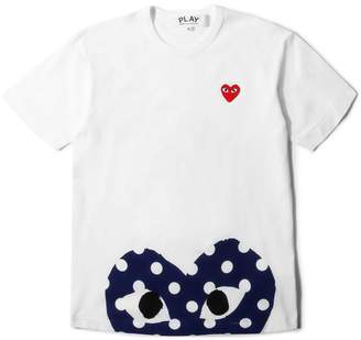 Comme des Garcons PLAY POLKA DOT T-SHIRT