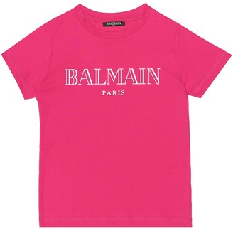 Balmain Kids Exclusive to Mytheresa Logo cotton-jersey T-shirt