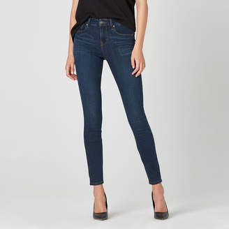 DSTLD High Waisted Skinny Jeans in Dark Vintage