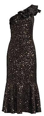 Shoshanna Women's Evadene One Shoulder Dress