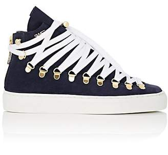 Swear London Women's Redchurch Suede Sneakers - Navy