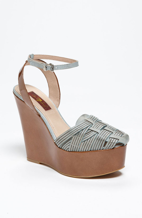 7 For All Mankind 'Yves' Wedge Sandal