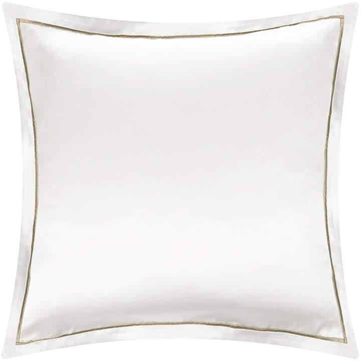 Gingerlily - Boston Silk Pillowcase - White/Sand - 65x65cm