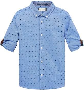 Scotch & Soda Cuffed Oxford Shirt Regular fit