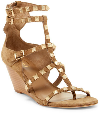AshAsh Dafne Studded Wedge Gladiator Sandal