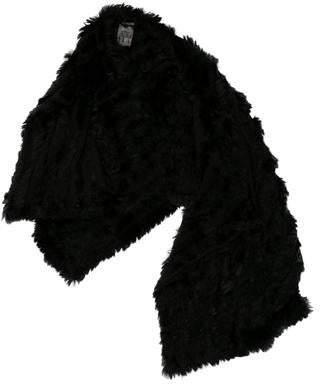 Fur Knit Scarf