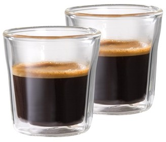 Baccarat Facet 3 oz / 88ml Double Wall Espresso Glass - Set of 2