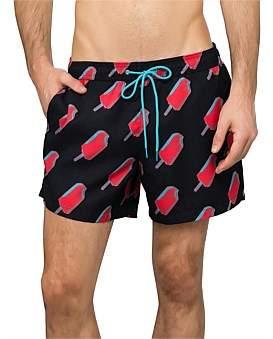 Paul Smith Ice Block Printed Swim Short