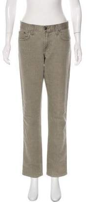 Ralph Lauren Black Label Mid-Rise Straight Jeans