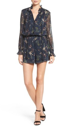 Adelyn Rae Blouson Romper $120 thestylecure.com