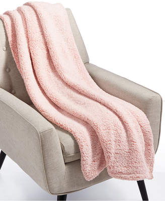 Martha Stewart Collection Whim By Collection Sherpa Throw Blanket