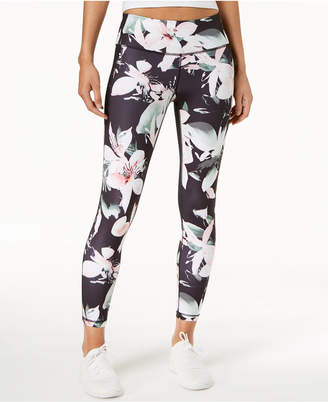 Macy's Ideology Floral-Print Ankle Leggings, Created for