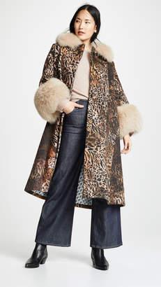 Saks Potts Yvonne Animal Coat