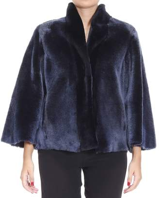 Giorgio Armani Fur Coats Jackets Woman