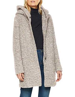ONLY NOS Women's Onlsedona Boucle Wool Coat OTW Noos,(Manufacturer Size: XX-)