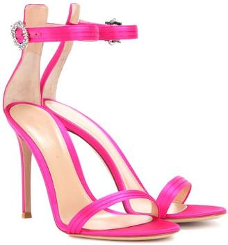 Gianvito Rossi Exclusive to mytheresa.com – Ava satin sandals