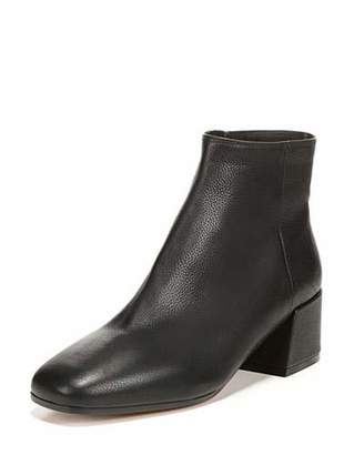 Vince Ostend Pebbled Leather Bootie