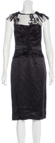 Burberry Burberry Prorsum Lace Silk Dress w/ Tags