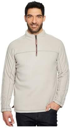 True Grit Bonded Polar Fleece and Sherpa 1/4 Zip Pullover Men's Clothing