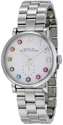 Marc By Marc Jacobs Silver Dial Stainless Steel Ladies Watch