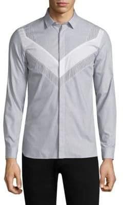 Neil Barrett Striped Modernist Shirt
