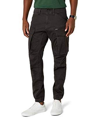 G Star Men's Rovic Zip 3D tapered Tapered Trousers, Black (Raven 976), 38/32