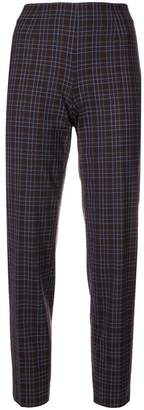 Piazza Sempione checked trousers