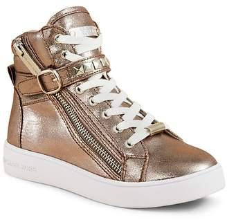 MICHAEL Michael Kors Girls' Ivy Rory Zip Up High Top Sneakers - Little Kid, Big Kid