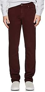 J Brand MEN'S KANE TERRY STRAIGHT JEANS-WINE SIZE 30