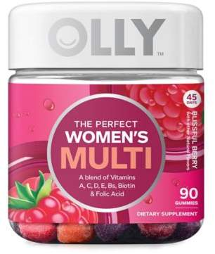 OLLYTM 90-Count Women's Multi in Blissful Berry Gummies $13.99 thestylecure.com