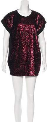 Just Cavalli Short Sleeve Mini Dress w/ Tags