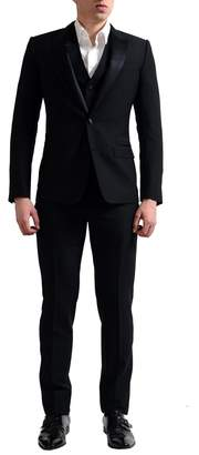 Dolce & Gabbana Men's Wool Silk Three Pieces Tuxedo Suit