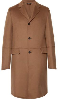 Prada Slim-Fit Camel Hair Coat