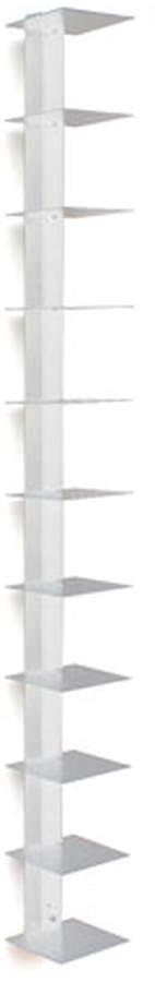 Haseform - Bücherturm, Weiß (90 cm)