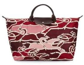 Longchamp Printed Travel Bag