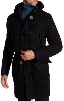 Andrew Marc Weston Hooded Coat $415 thestylecure.com