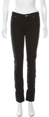 Acne Studios Mid-Rise Straight Jeans
