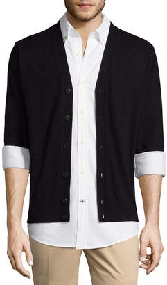 ST. JOHN'S BAY Mens Long Sleeve Cardigan